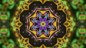 Tribal Kaleidoscope: Stock Motion Graphics