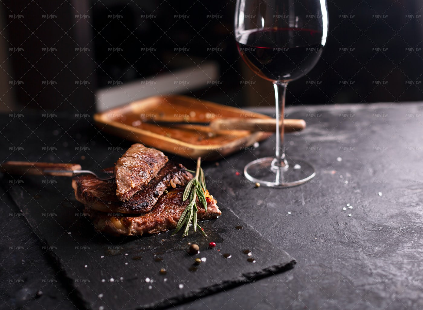 Beef Steak Dish: Stock Photos