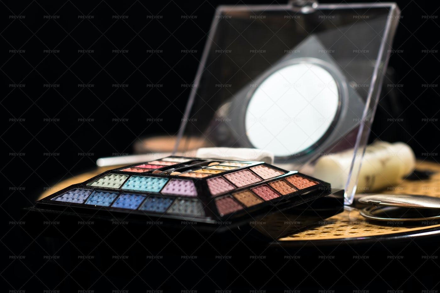 Makeup Palette: Stock Photos
