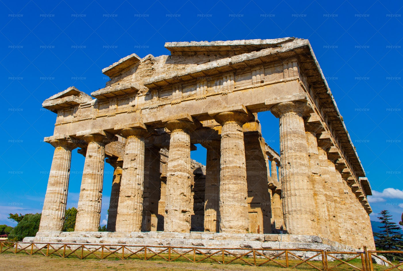 A Greek Temple: Stock Photos