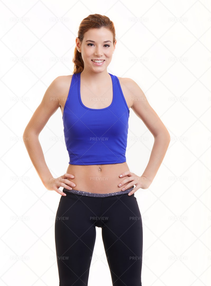 Young Fit Woman: Stock Photos