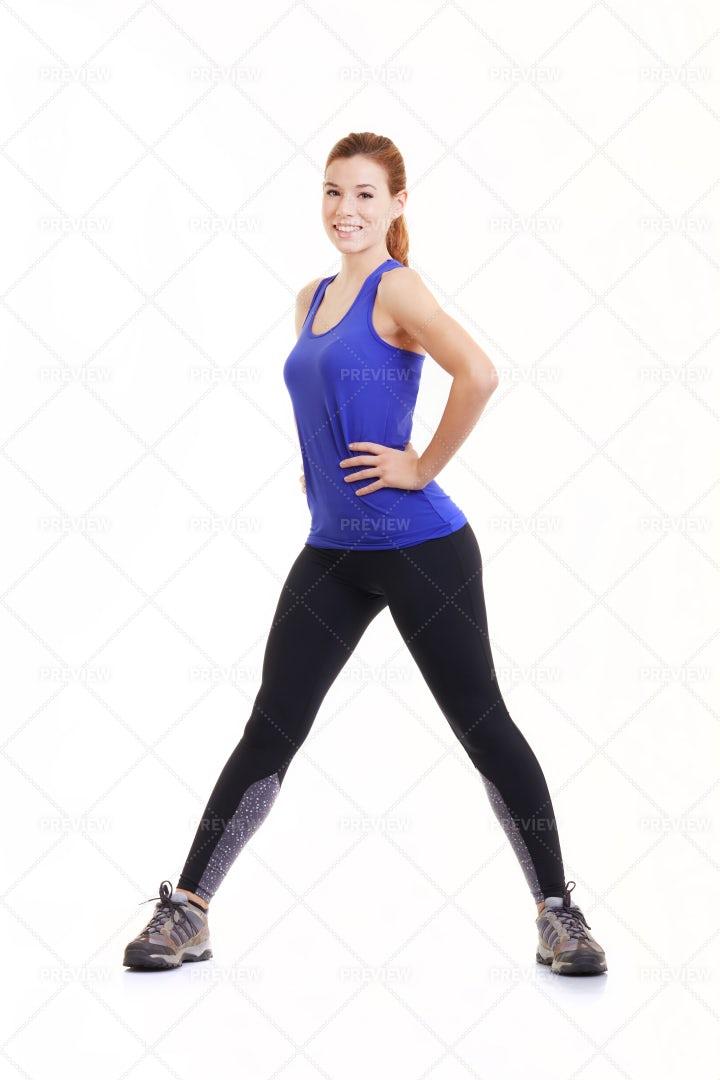 Young Sportswoman: Stock Photos