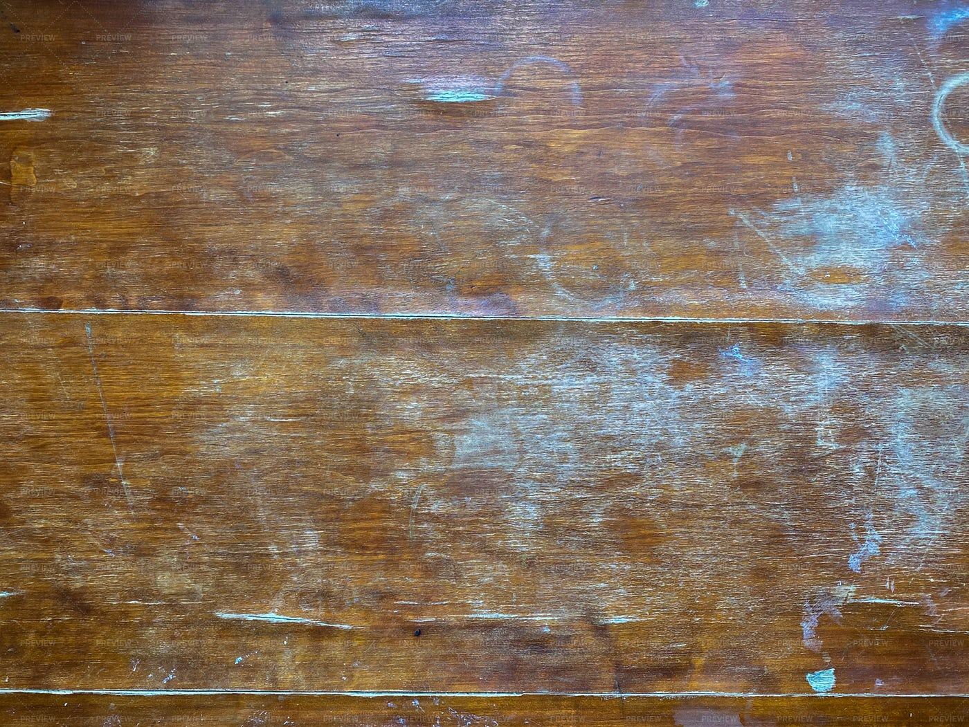Scratched Wooden Table: Stock Photos