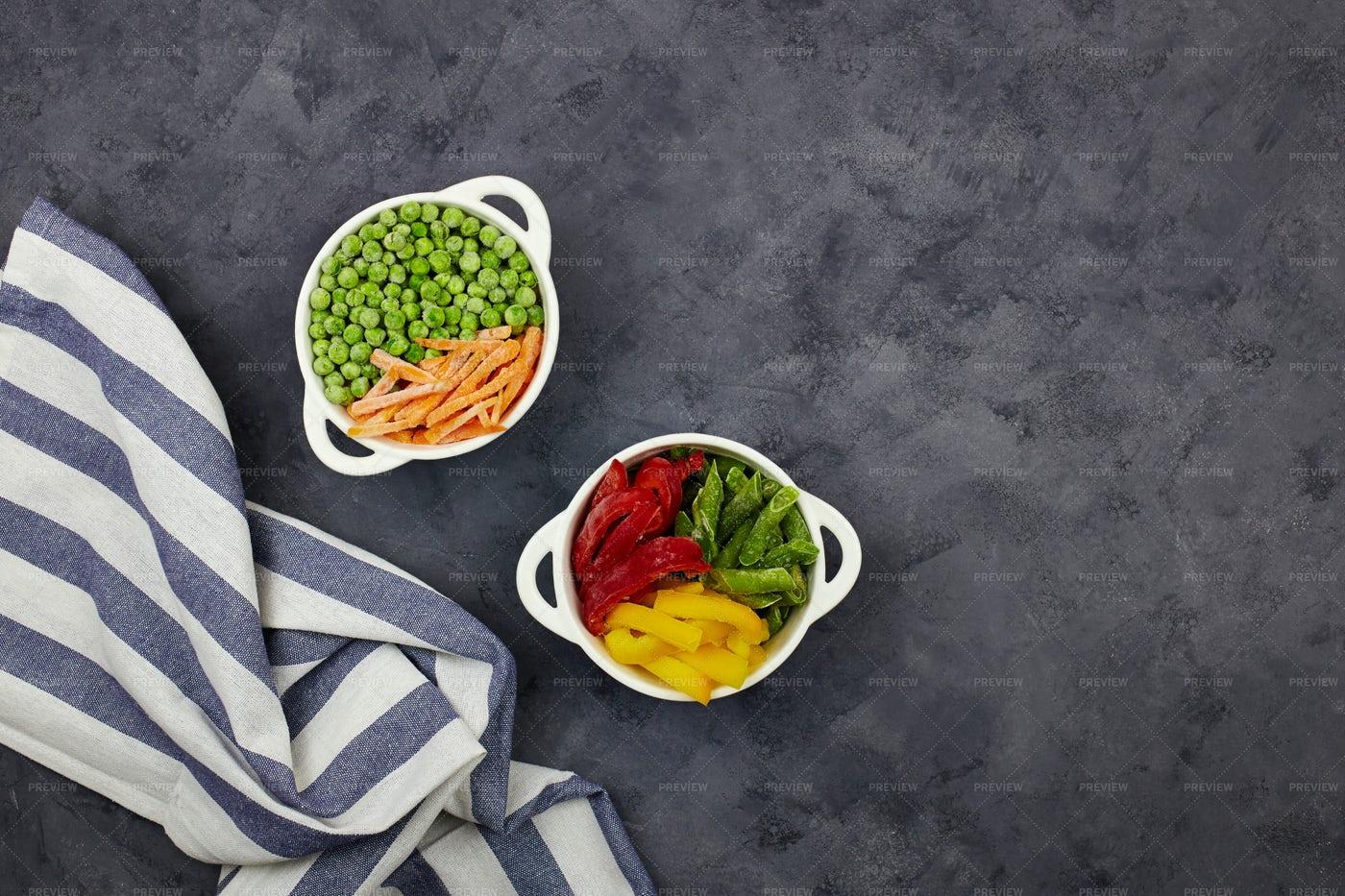 Frozen Vegetables: Stock Photos
