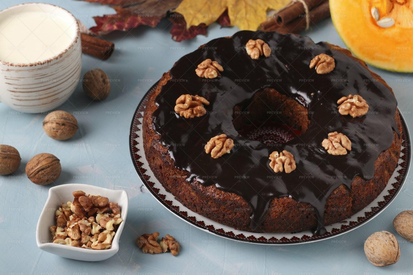 Pumpkin Pie: Stock Photos