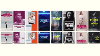 Social Media Stories: Premiere Pro Templates