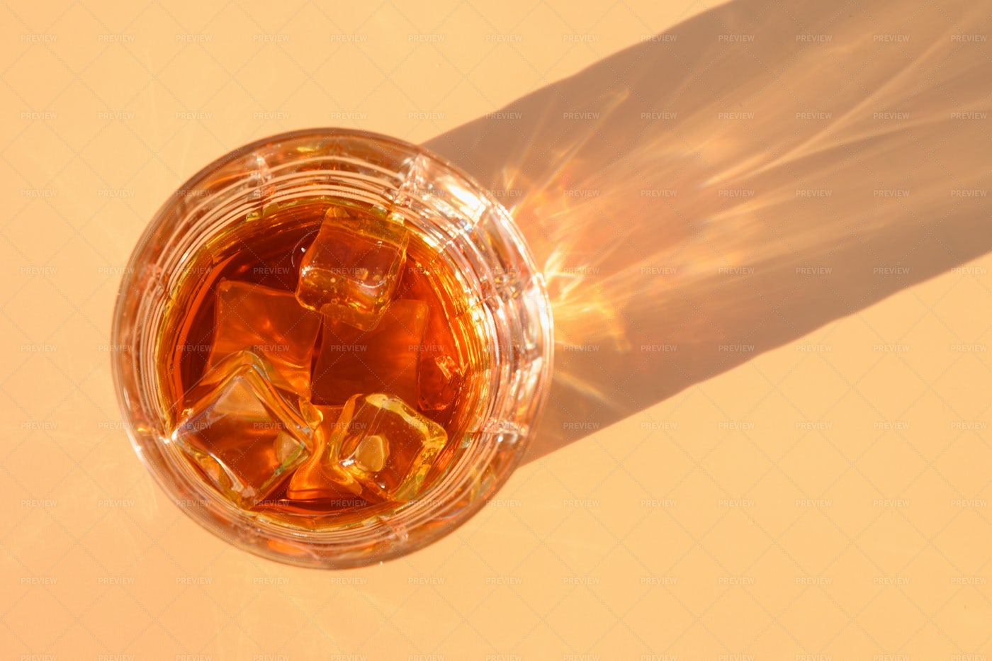 Glass Of Cold Whiskey: Stock Photos
