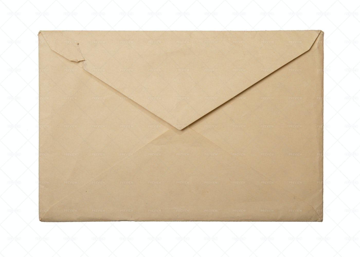 Vintage Envelope: Stock Photos