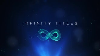 4K Infinity Titles: After Effects Templates