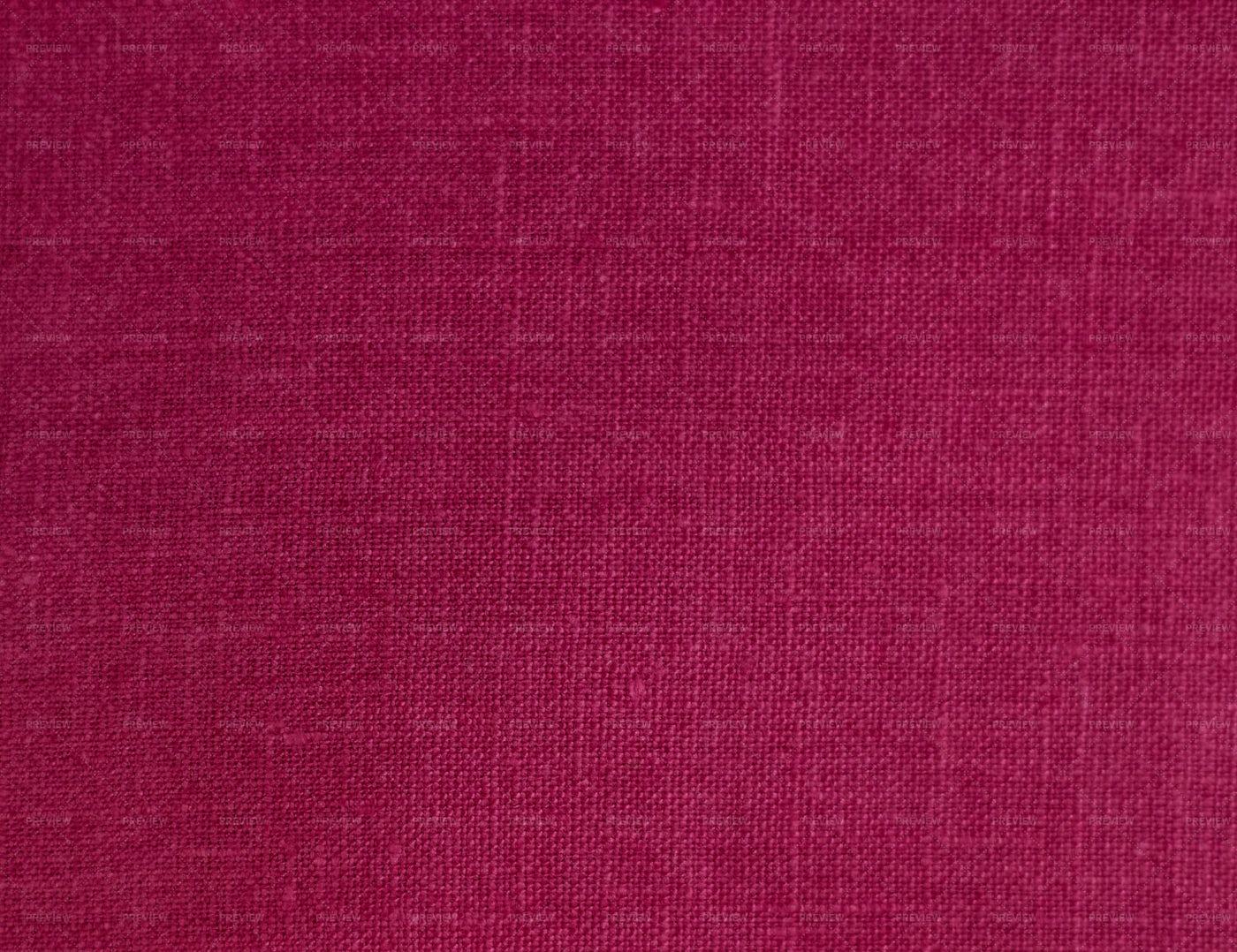 Red Pink Linen Texture: Stock Photos