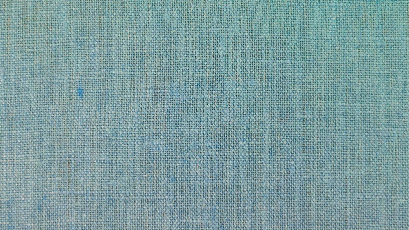 Aqua Blue Linen Texture: Stock Photos