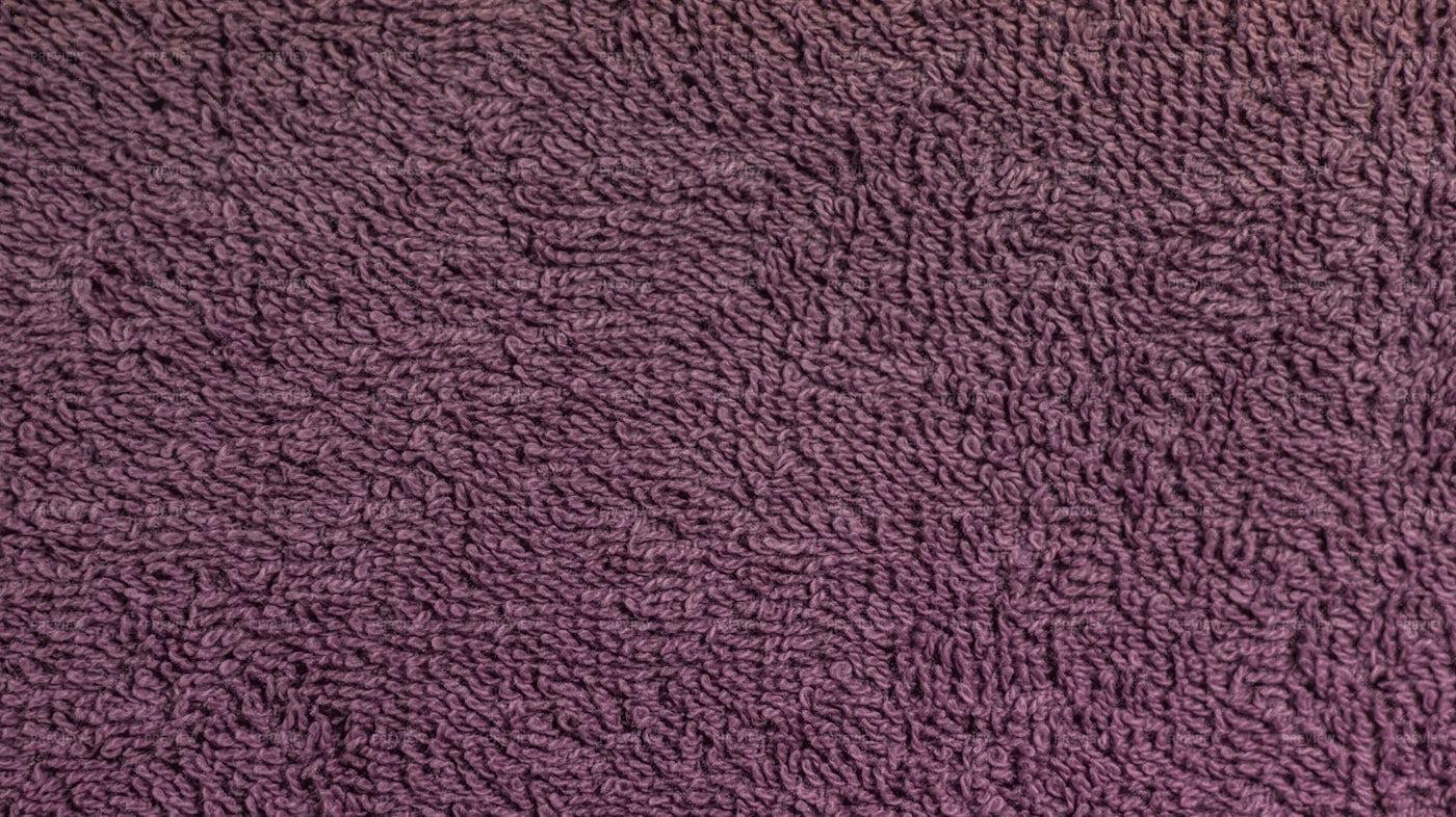 Purple Cotton Towel Texture: Stock Photos