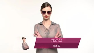 Best Fashion Lower Thirds : After Effects Templates