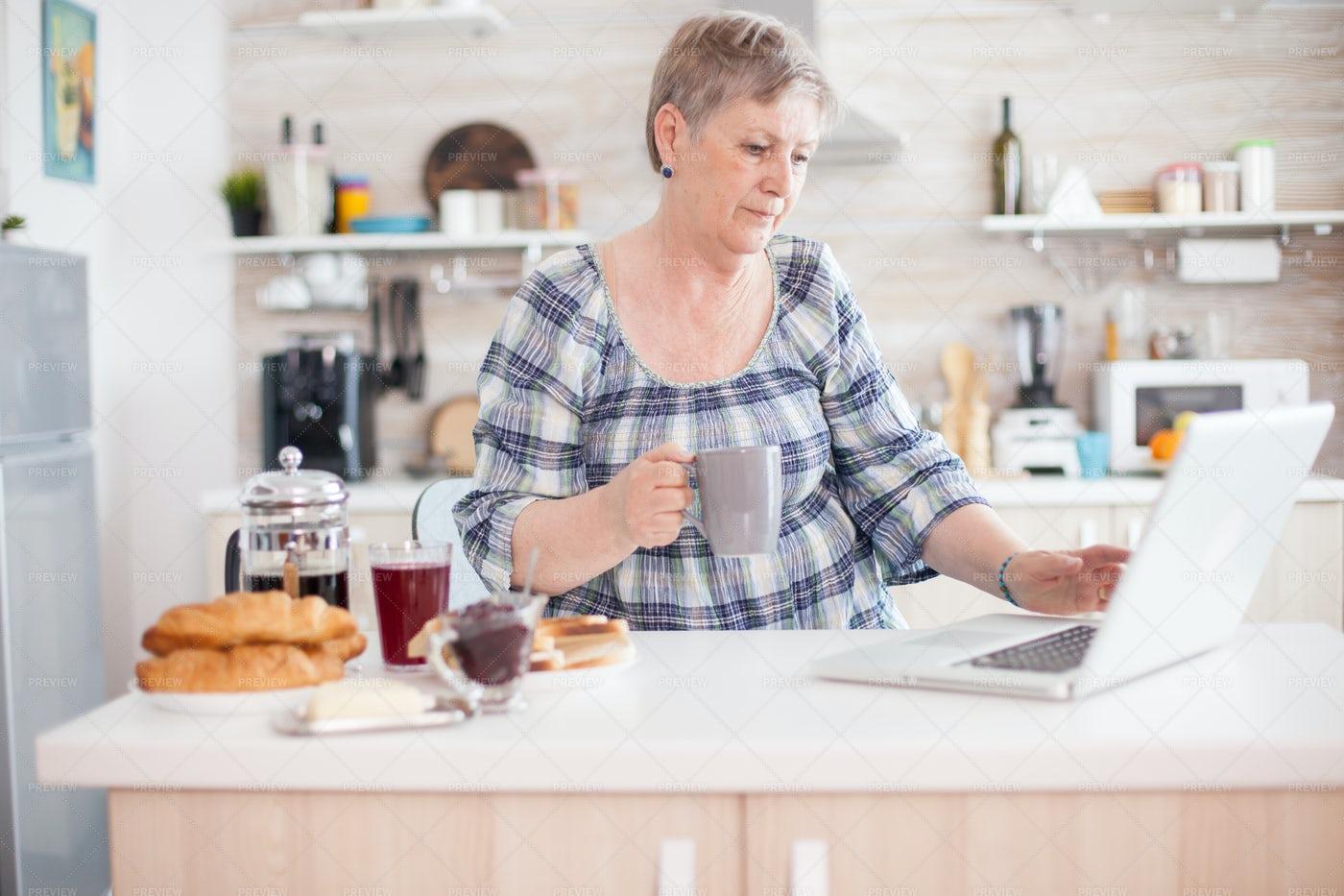 Working In Kitchen: Stock Photos