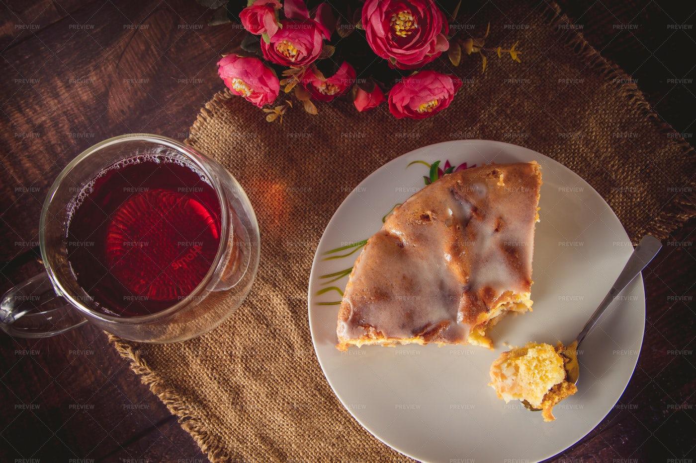 Piece Of Apple Pie: Stock Photos