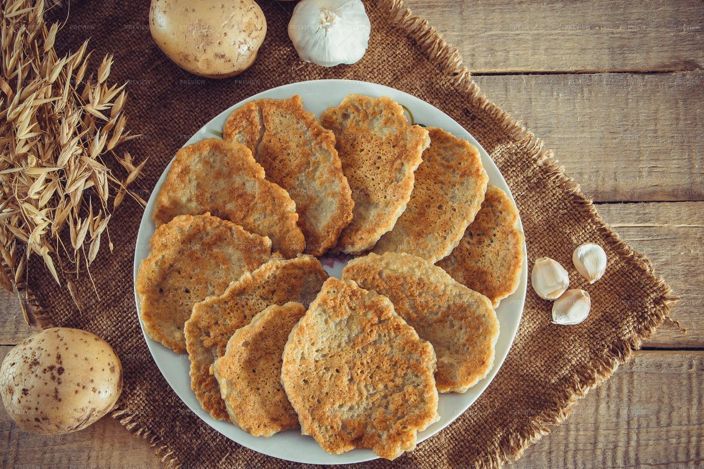 Potato Pancakes: Stock Photos
