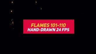 Liquid Elements 2 Flames 101-110: Stock Motion Graphics