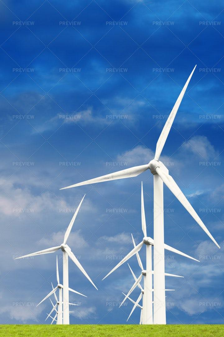 Wind Turbines: Stock Photos