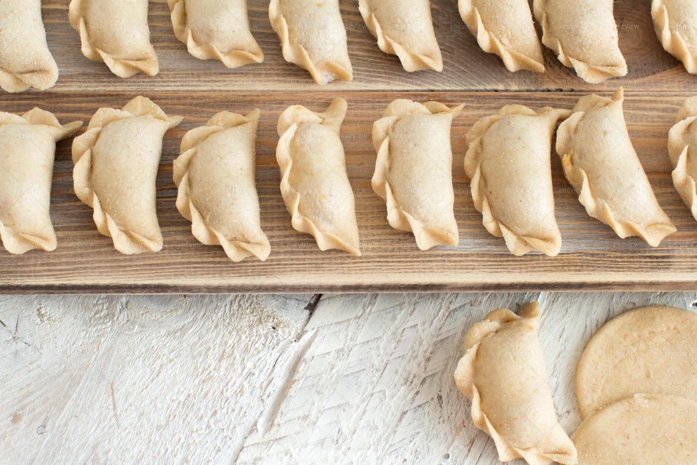 Pelmeni Dumplings: Stock Photos