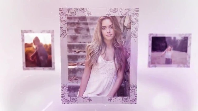 Glass Photo Album 4K: After Effects Templates