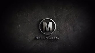 Metal Logo Reveal: After Effects Templates