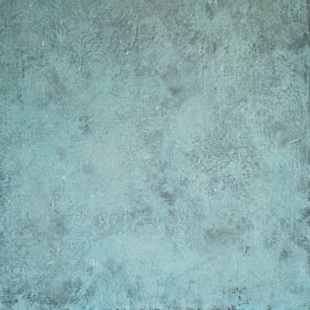 Turquoise Painted Canvas Background: Stock Photos