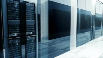 Server Room: Motion Graphics