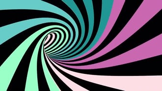 Hypnotic Spiral Tunnel: Stock Motion Graphics