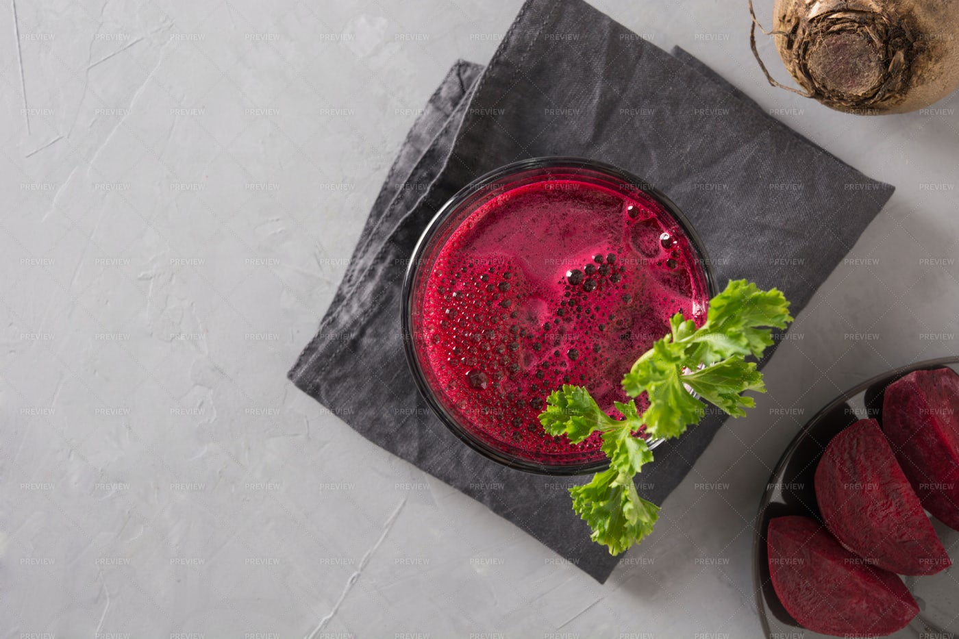 Glass Of Beetroot Juice: Stock Photos