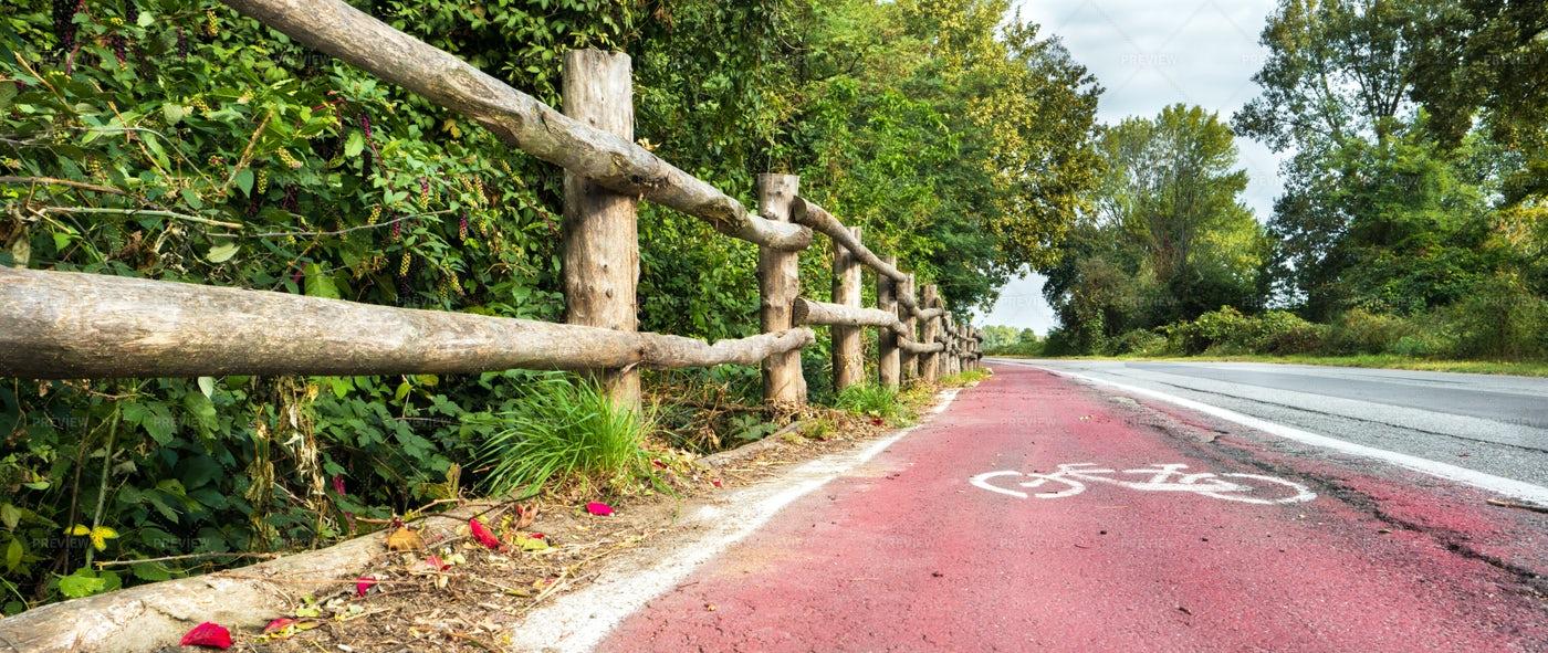 Bike Path: Stock Photos