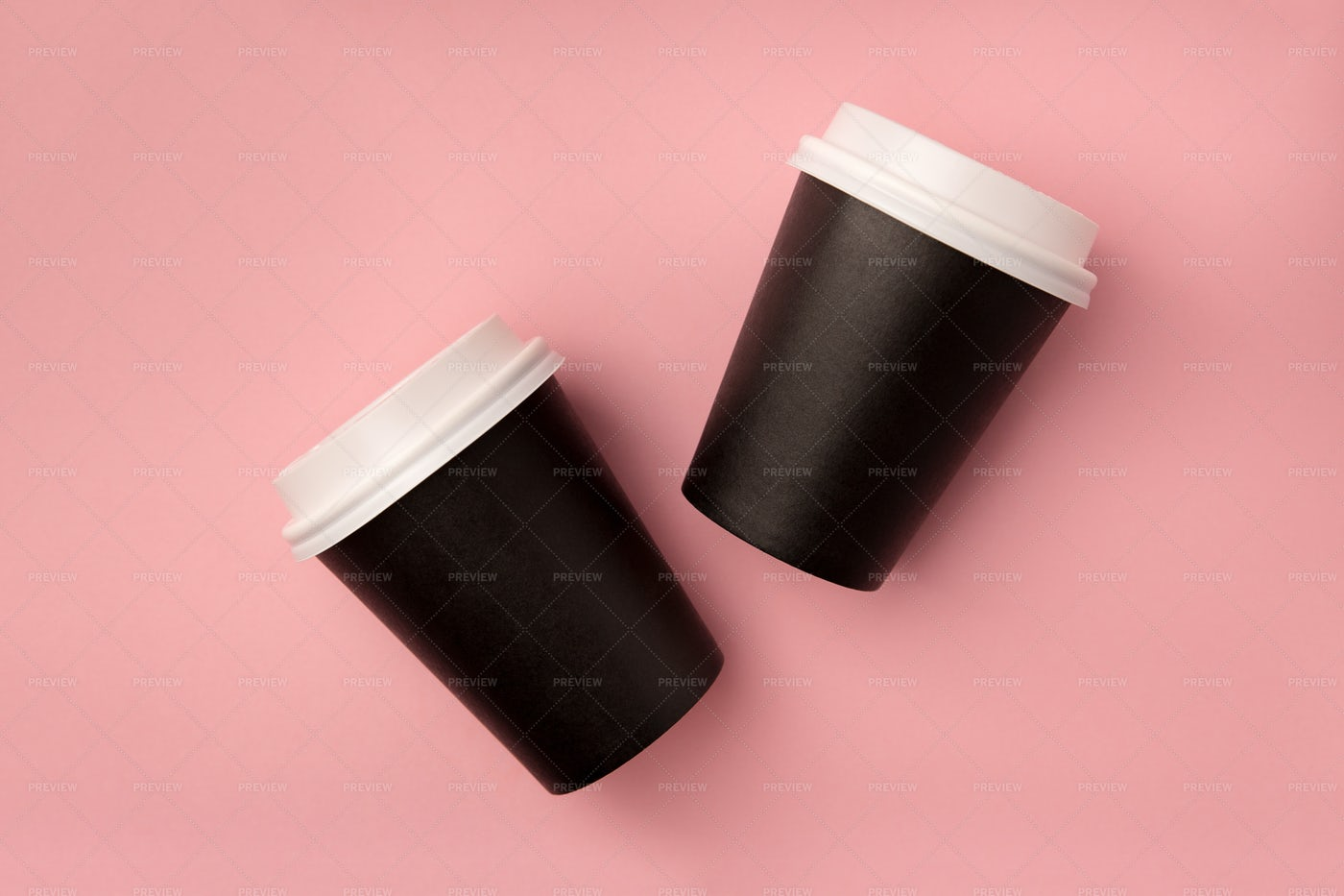 Disposable Coffee Cups: Stock Photos