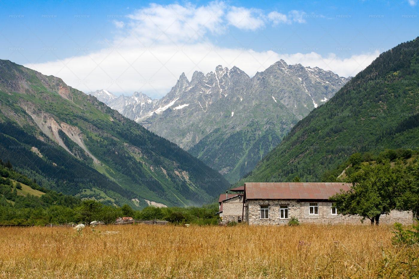 Mountain Landscape: Stock Photos