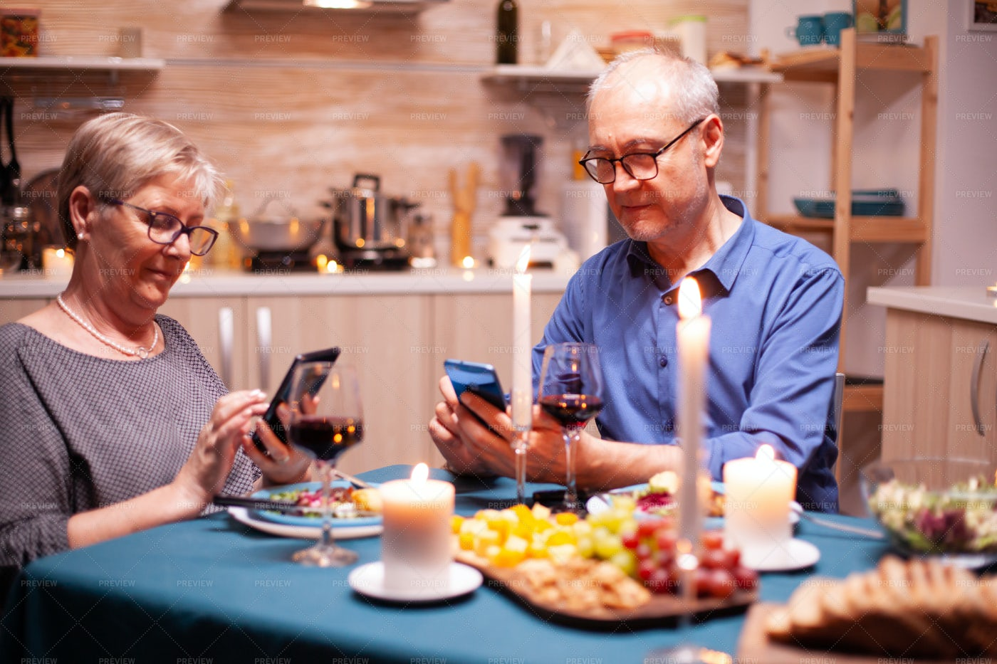 Browsing On Their Smartphone: Stock Photos
