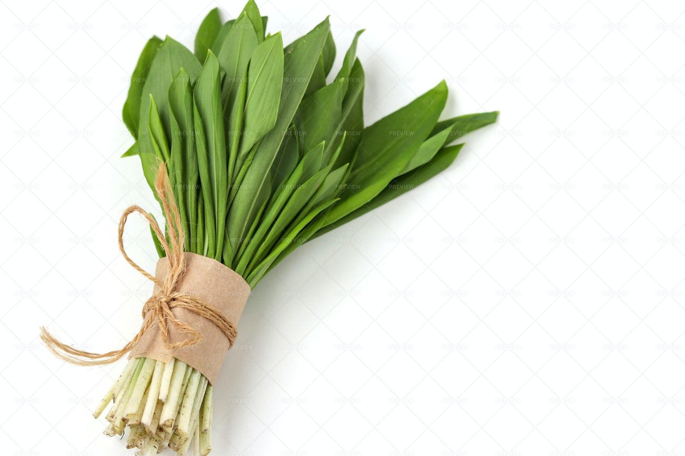 Ramson Wild Garlic: Stock Photos