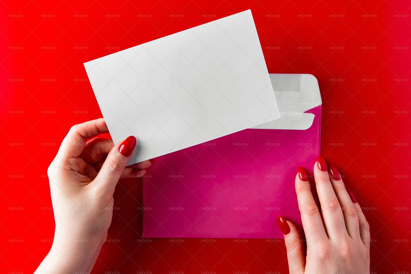 Congratulatory Envelope: Stock Photos
