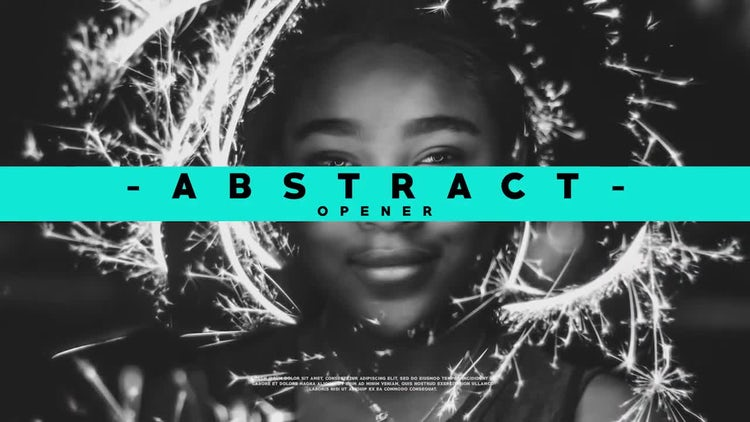 Abstract Opener 4K: After Effects Templates