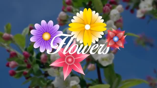 Animated Flowers Pack: Stock Motion Graphics