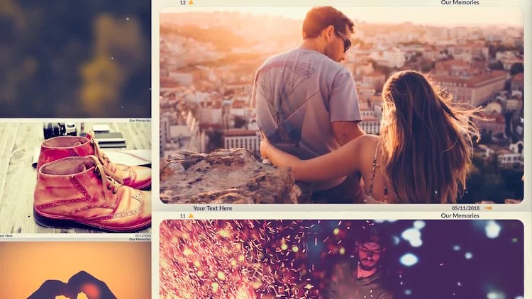 Living In A Moment: After Effects Templates