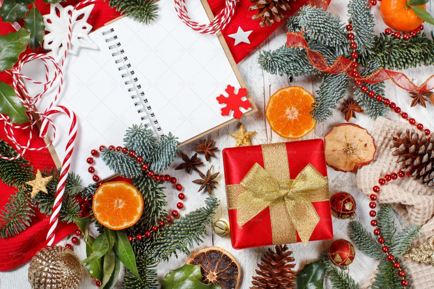 Christmas Composition: Stock Photos