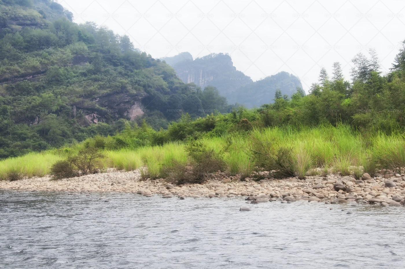 Nine Bend River: Stock Photos
