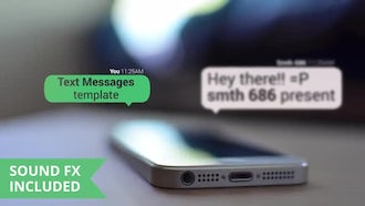Text Messages: Motion Graphics Templates