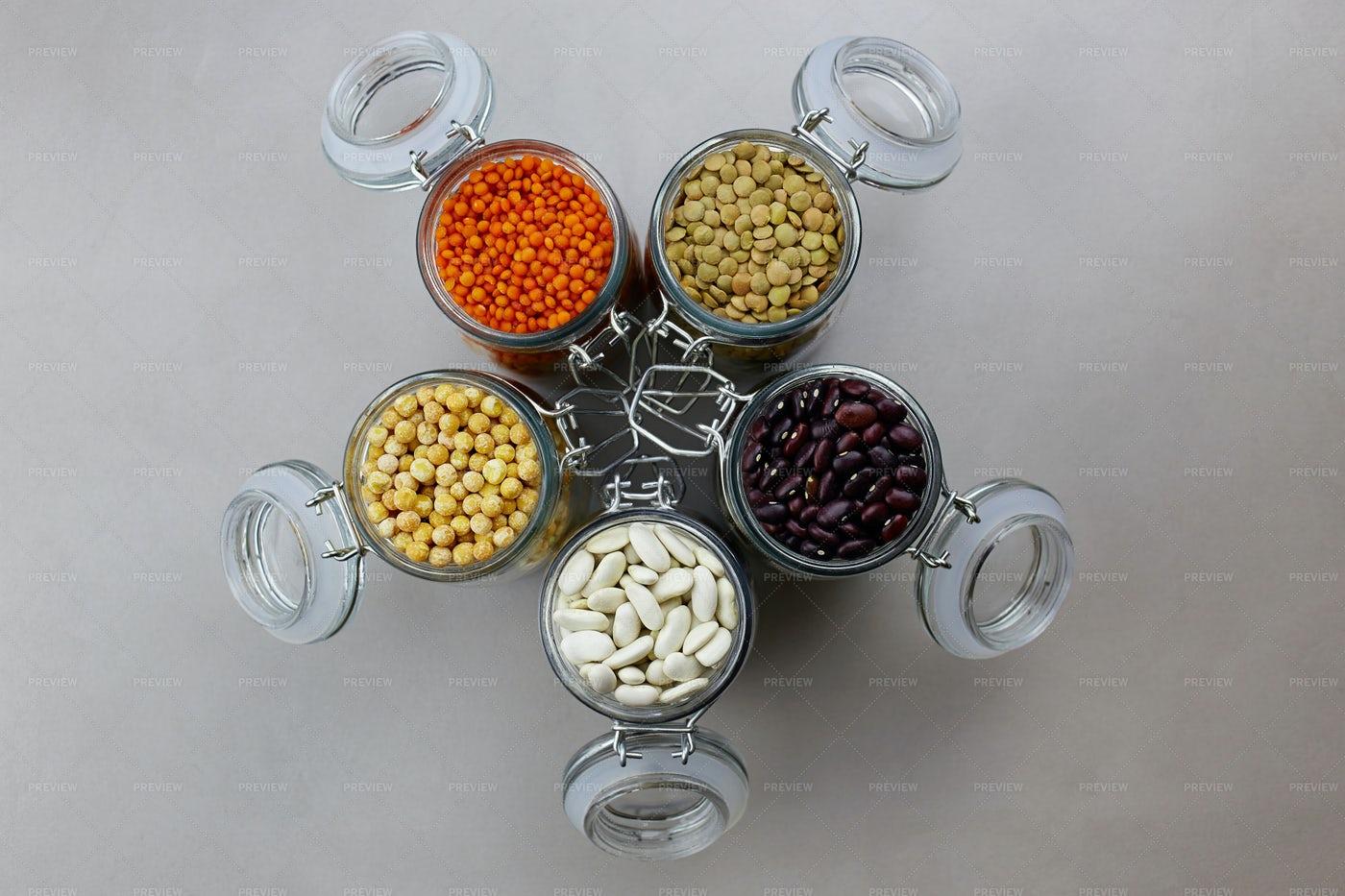 Dried Legumes: Stock Photos