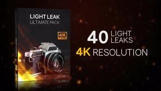 Light Leaks 4K Ultimate Pack: Motion Graphics