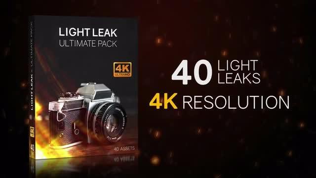 Light Leaks 4K Ultimate Pack: Stock Motion Graphics