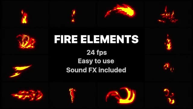 Mr. Flash FX Fire Elements: Stock Motion Graphics