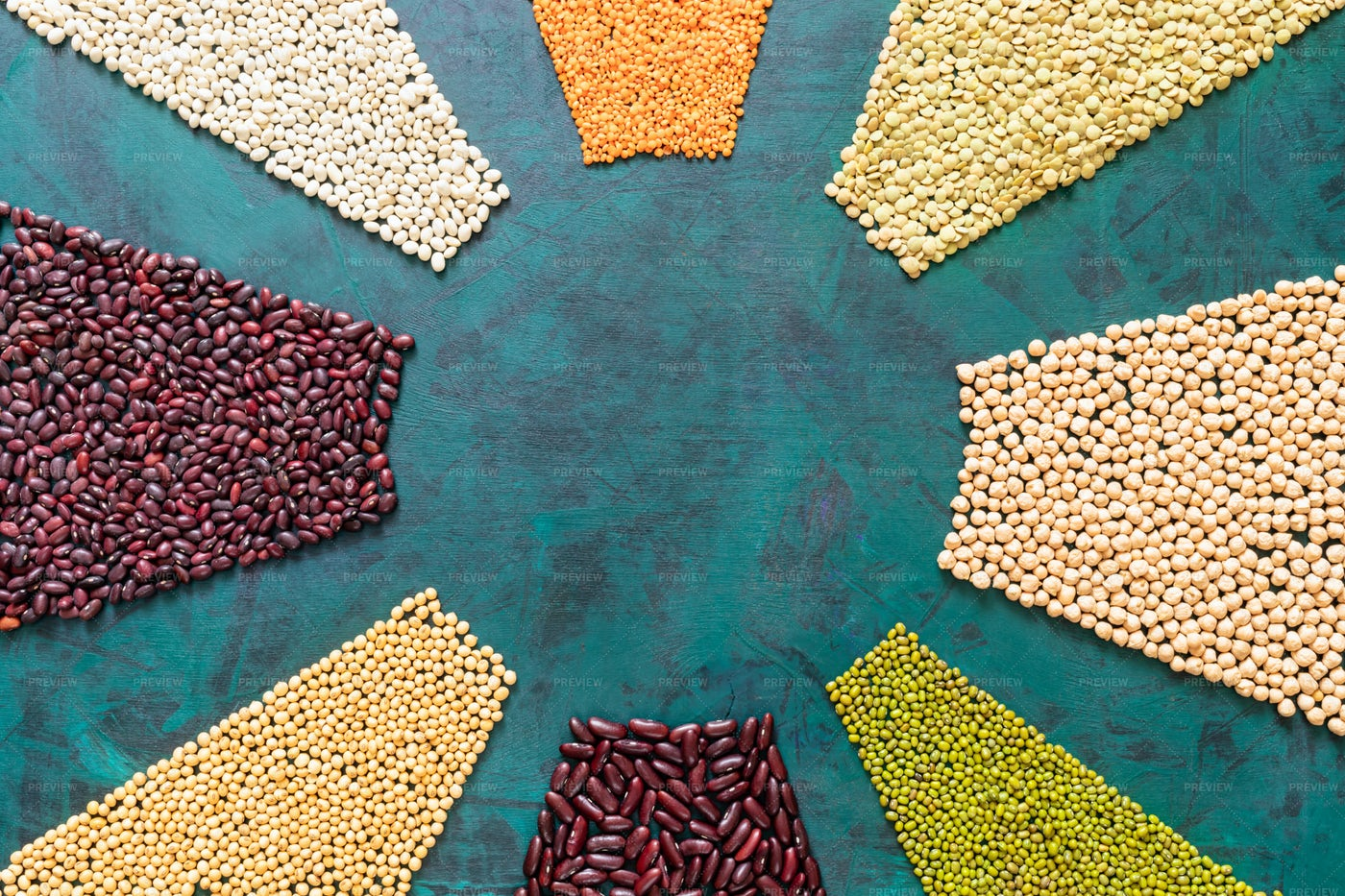 Cereals Laid Out: Stock Photos