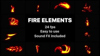 Flash FX Fire Elements: After Effects Templates