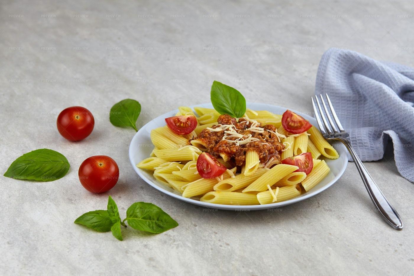 Bolognese Pasta: Stock Photos