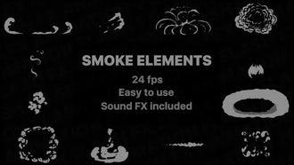 Flash FX Smoke Elements: Stock Motion Graphics
