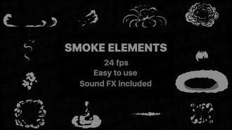 Flash FX Smoke Elements: After Effects Templates